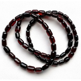 Lot of 3 Greek style Baltic Amber beads bracelets