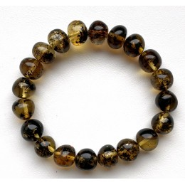Natural Plant Amber Bracelet Baroque Beads
