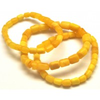 Lot of 3 unpolished Baltic amber bracelets