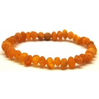 Raw Baltic amber bracelet