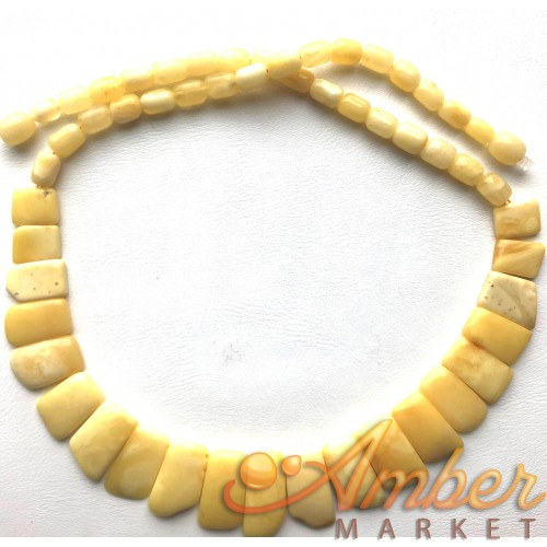 Butterscotch Baltic amber choker necklace