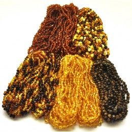Lot of 100 Baroque beads Baltic amber teething necklaces