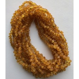 10 Raw Baroque beads amber teething necklaces