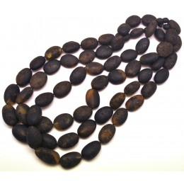 Lot of 3 big beads healing Baltic amber necklaces