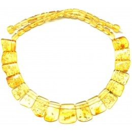 Lemon  Baltic amber choker