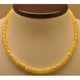 Greek style natural  amber necklace