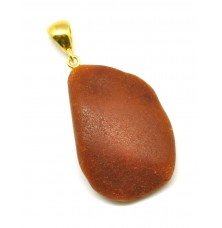 Raw  Baltic amber pendant