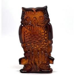 Carved Natural Amber Owl Figurine Superb Quality Handmade 11 g