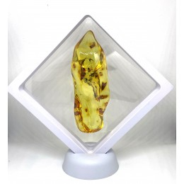 Baltic Amber Stone With Inclusion 32 g in the box
