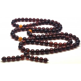 Baltic amber Tibetan Buddhist Mala Prayer 108 beads 11,5 mm