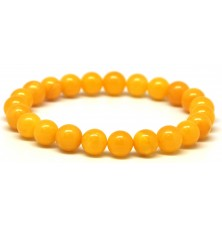 Antique round beads Baltic amber bracelet 9 mm.