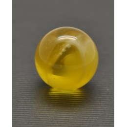 Big Baltic amber round bead 20,5 mm .