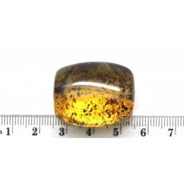Big Baltic amber barrel shape piece
