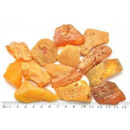 100g Big  raw Baltic amber stones