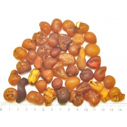 80g.  Baltic amber drops