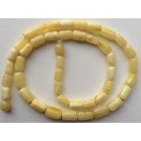 Greek style white  amber necklace