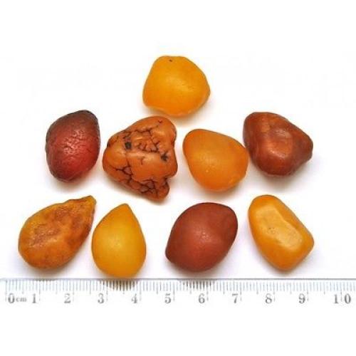 Baltic amber drops